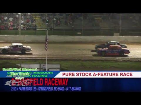 Pure Stock A Feature Race Springfield Raceway August 26, 2017