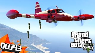 BOMBING THE MILITARY BASE!! GTA 5 Mods Showcase!