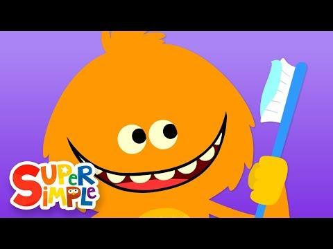 Brush Your Teeth | Kids Songs |  Super Simple Songs