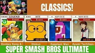 Smash Bros ultimate Spirit Board