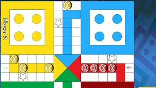 Ludo game in 2 players | Ludo King 2 players | Ludo gameplay #133