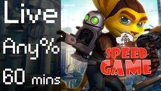 Speed Game: Live Any% Ratchet & Clank en moins de 1 heure !