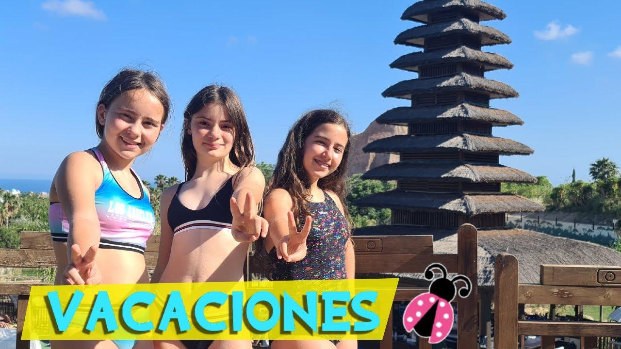 ME VOY DE VACACIONES CON MIS AMIGAS!! a BENIDORM | Resort MAGIC NATURA + PARQUE AQUA NATURA