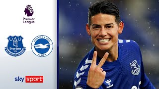 Doppelpacker James Rodriguez überragt! FC Everton - Brighton  4:2 | Highlights - Premier League
