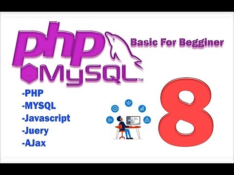 PHP MySQL HTML part 8 (basic) - select and delete record from database
