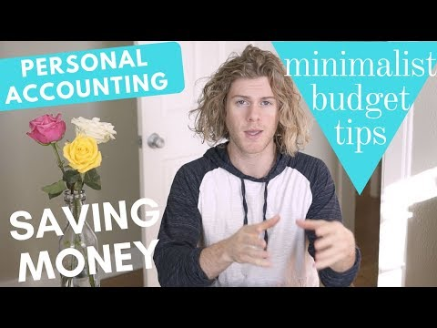 Saving Money by Tracking Expenses | Minimalist Budget Tips