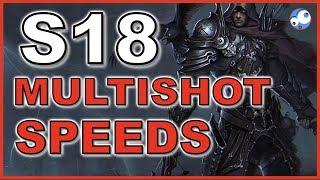 Multishot Speed Build Guide (Diablo 3 Season 18 Patch 2.6.6) UE Fire
