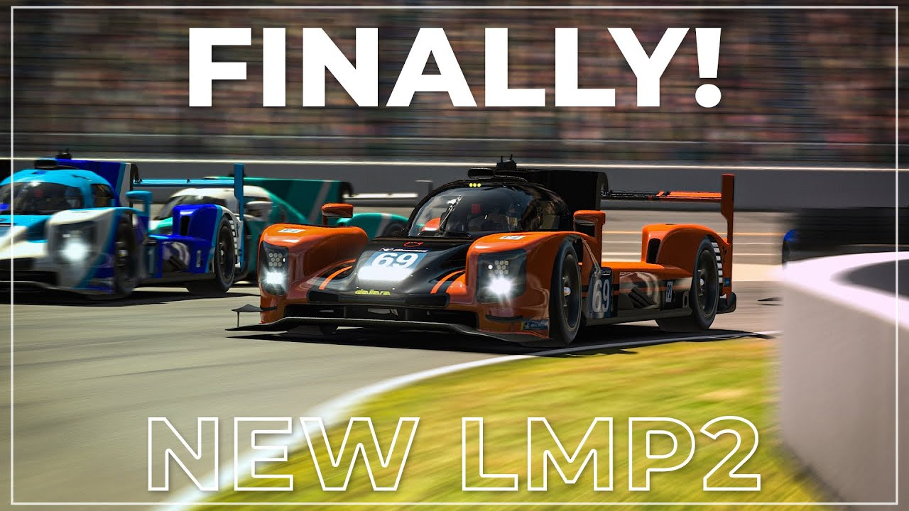 Video: Testing the new iRacing LMP2