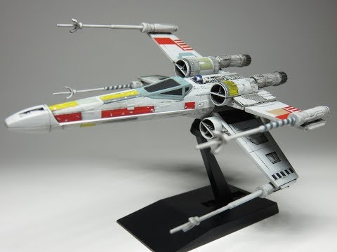 Bandai 1:144 X-wing Fighter