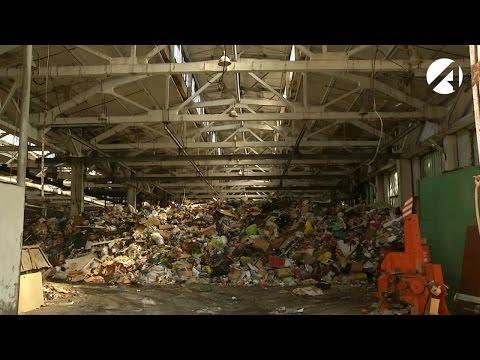 За переработку мусора в центре Астрахани компании грозит штраф