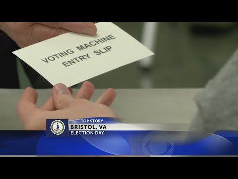 Voters head to the polls in Bristol, VA