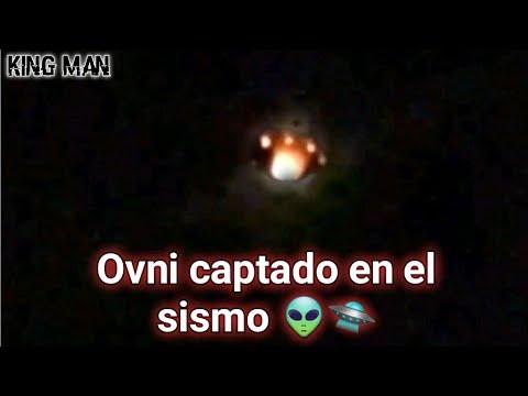 Ovni y luces extrañas captadas en el momento del terremoto de Mexico ???