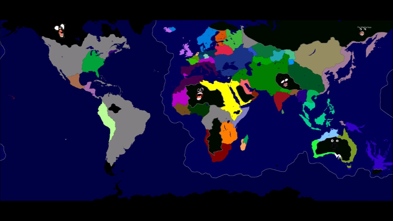 Alternate Earth Map.Alternate Earth Map Game V2 Part Ii Youtube