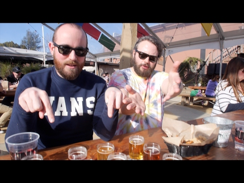 The Beer Log: a flight at Lagunitas, Petaluma | The Craft Beer Channel