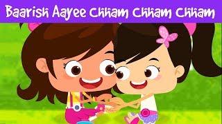Barish Aayi Barish Aayi | बारिश आई छम छम छम | हिंदी बाल गीत | Kids Nursery Rhymes | Jalebi Street