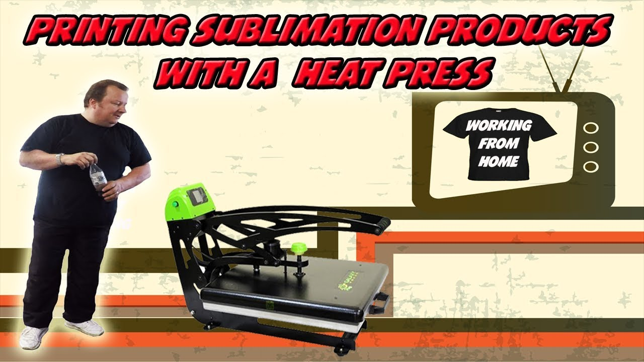 Sublimation Press Sublimation Products With A Heat Press How To Grow Your Business
