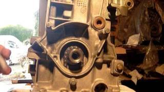 Remplacement de la chaine de pompe a huile sur un moteur TU