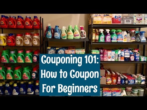 How To Start Couponing For Beginners | Couponing 101