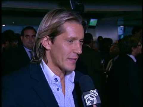 Despedida de Michel Salgado en el Bernabéu