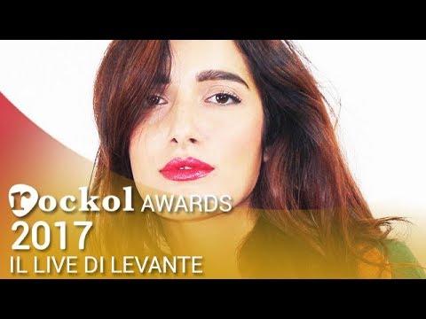 Levante, i live di Rockol: l'esibizione ai Rockol Awards 2017