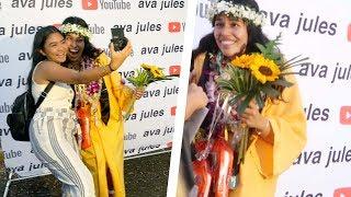 Leing Ava Jules during her high school graduation | Jonalyne Joy