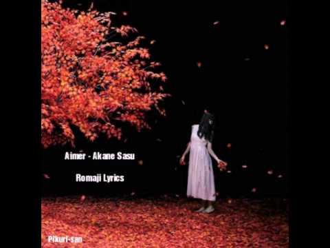Aimer - Akane Sasu ◆ Romaji Lyrics ◆