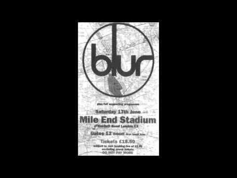 Blur - Mile End - 17.06.95