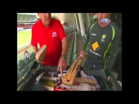 George Bailey's Kit Bag - The Cricket Show 2013-14