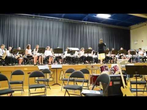 Klezmer Clarinets - Spring Glen School spring concert