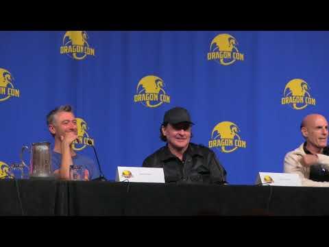 Sean Gunn, John Cusak, Tony Gowell Ashley Scott and Ned Bellamy Dragon Con 2017