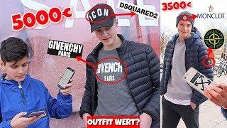 WIE VIEL IST DEIN OUTFIT WERT?🤔💸 | 5000€ DESIGNER-OUTFIT mit 15 JAHREN!😱