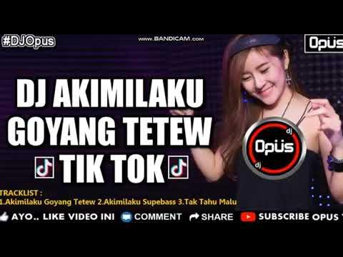 DJ CANTIK AKIMILAKU GOYANG TETEW ♫ LAGU TIK TOK TERBARU REMIX ORIGINAL 2018