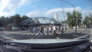 Подборка ДТП / Лето 2017/ Часть 244 - Car Crash Compilation - Part 244