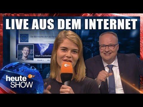 Igitt, Datenschutz! Hazel Brugger zur DSGVO | heute-show vom 01.06.2018