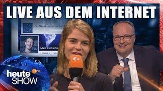 Igitt, Datenschutz! Hazel Brugger zur DSGVO | heute-show vom 01.06.2018 thumbnail