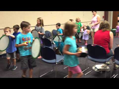 Jeff Holland, Drummer @ Your Library--Congo Line