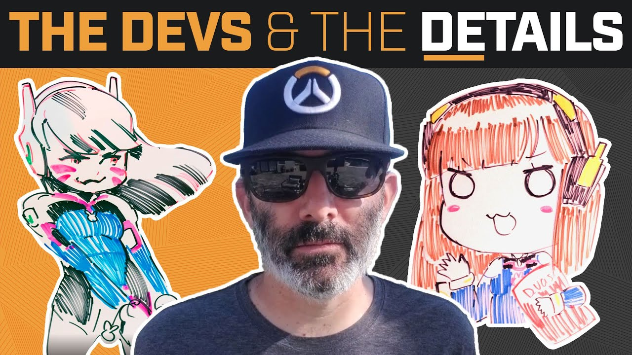 Overwatch Devs React to GREMLIN D.Va! | The Devs & The Details #5