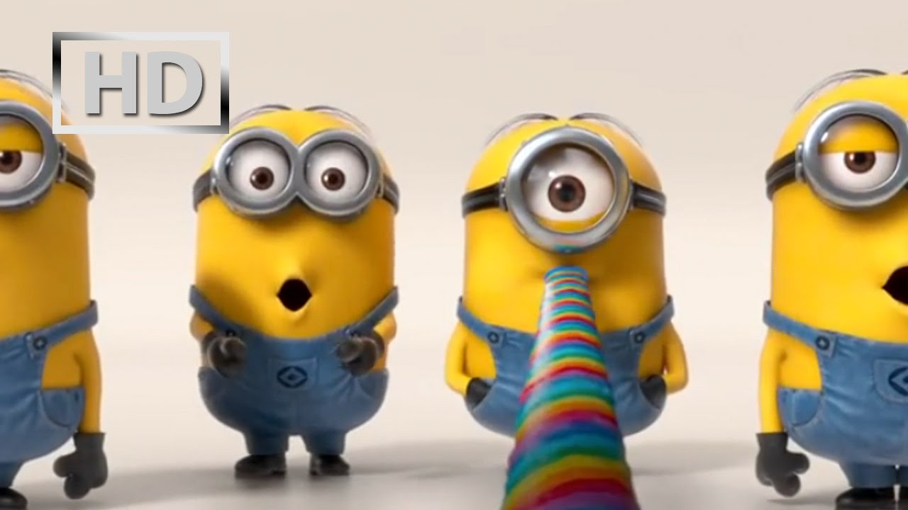 Despicable Me 2 Minions Banana Song 2013 Snsd Tts Youtube