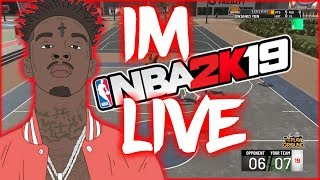 NBA 2K19!! 1.5k SUB GRIND!BEST PURE SHARP IS  LIVE! IM USING THE BEST CUSTOM  JUMPSHOT