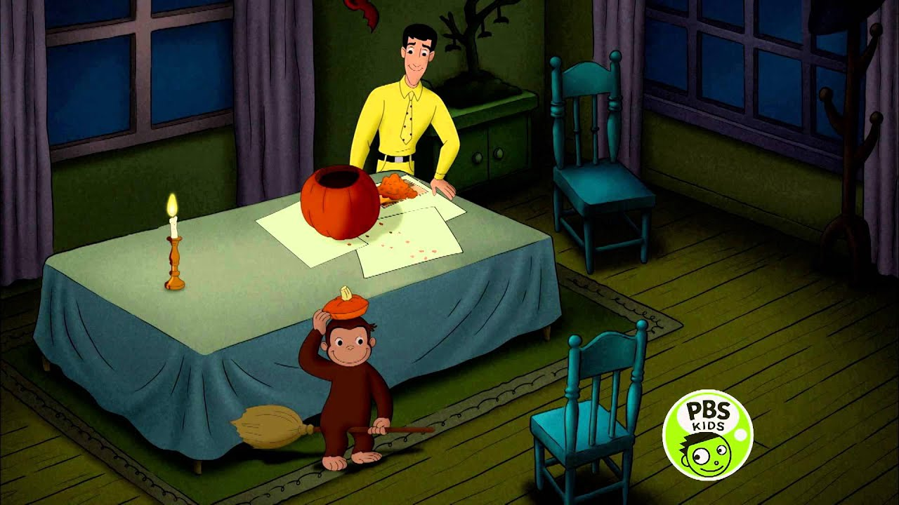 cuge boofest pressclip sortahauntedhouse youtube youtube - Curious George Halloween Games