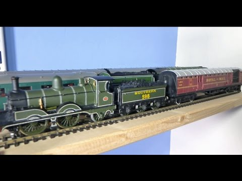 Hornby Operating Royal Mail Coach and Adams A12 Jubilee loco
