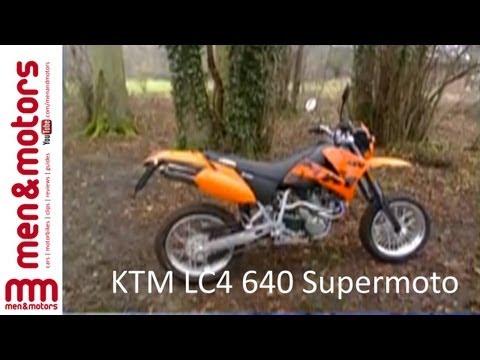 KTM LC4 640 Supermoto Review (2003)