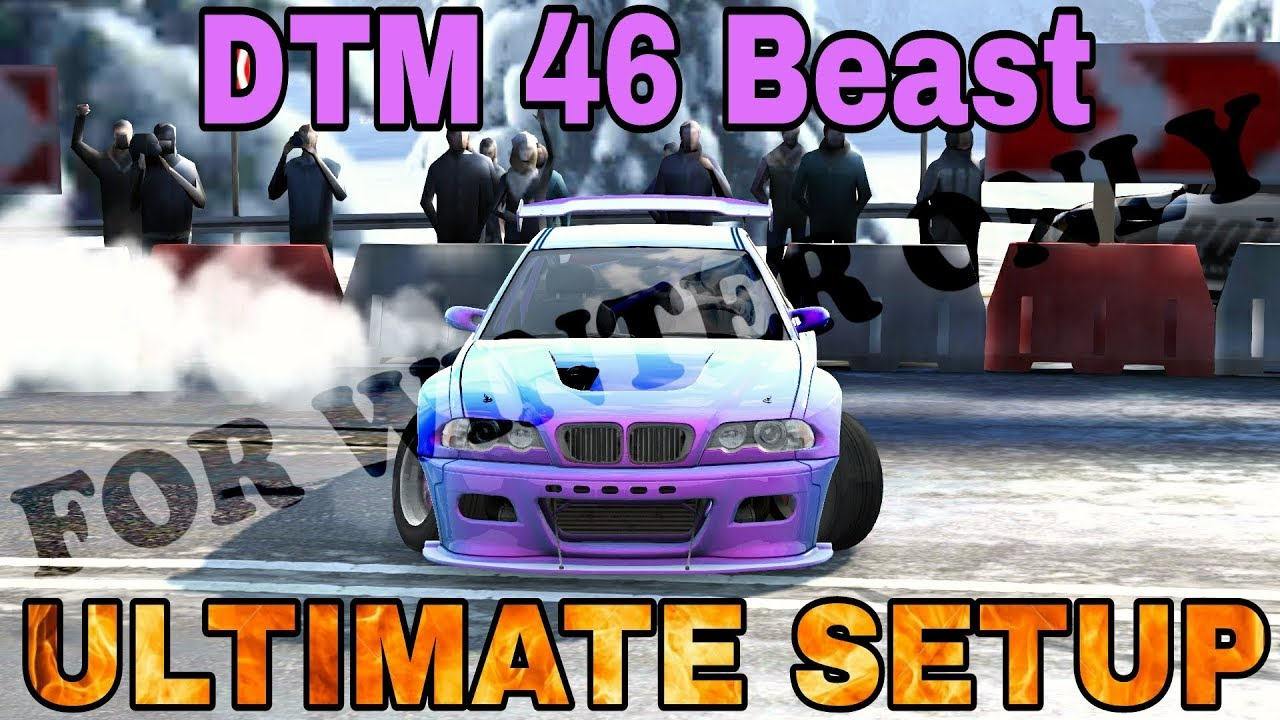 Old Dtm 46 Beast Ultimate Setup For Euro Tour Winter Tracks Bmw