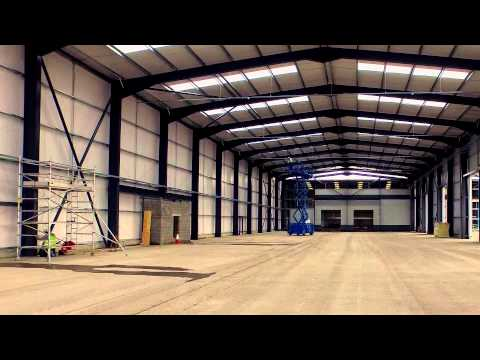 Edge Transport - Construction Progress Deeside Industrial Park Depot April 2015