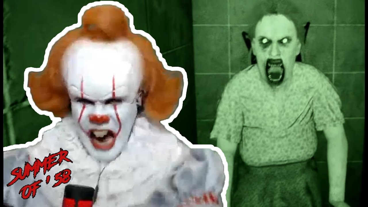 Pennywise plays a SCARY HORROR GAME Summer of '58 (THE END) | Prince De Guzman Transformations