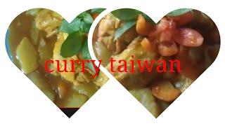 cara masak kari ayam TAIWAN