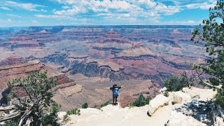 FALLING INTO THE GRAND CANYON