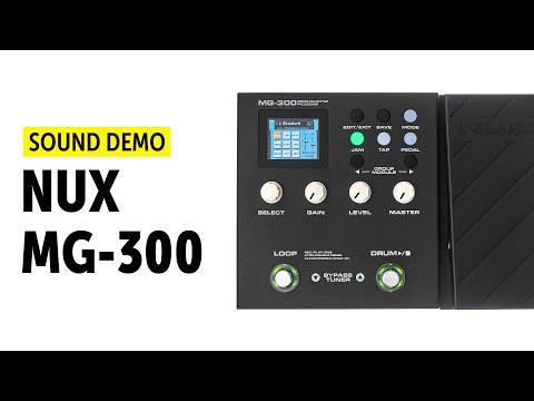 Nux MG-300 - Sound Demo (no talking)
