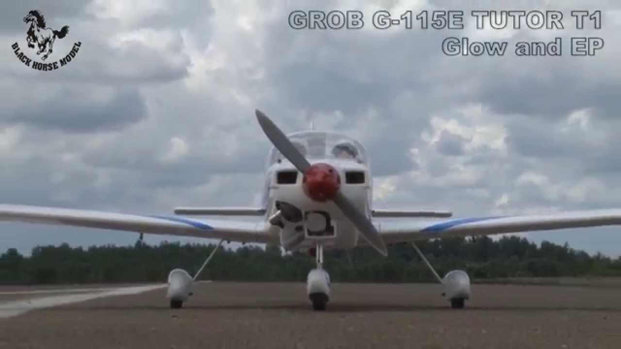 Black Horse Grob Tutor T1 ARTF (A-BH123) - Ripmax Ltd