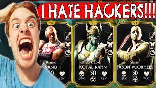 AMAZING GRAPPLE TEAM in Mortal Kombat X Mobile. Good Enough Against Hackers???